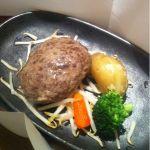 香櫨苑 高槻西武高槻店の山形牛焼肉店ですハンバーグは牛肉そのものの味がシンプルです素材の良さが感じられます今度は焼肉を食べに来たくなりますね