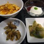 揚州飯店 渋谷店   小皿4種   浅蜊の佃煮は大好物なんです〜