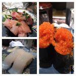 今日の夕飯。回転寿司 根室花まる JRタワーステラプレイス店