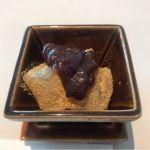 デザート。蕨餅。@なだ万 日本橋店
