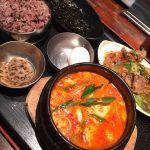 牛スジスンドゥブ小辛。あったまるぅー→→→純韓国料理 チャンチ 梅田店