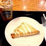 コーヒー&クリームフラペチーノとストロベリースコーン@スターバックス・コーヒー 秋葉原駅前店