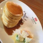ムーミンベーカリー&カフェ 東京ドームシティ・ラクーア店ムーミンママの出来立てパンケーキ