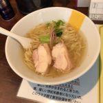 塩生姜らー麺専門店MANNISH #ramen #ラーメン 塩生姜らー麺¥850