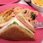 スイーツパラダイス 原宿店『パスタ・サンドイッチ・サラダ』