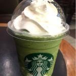 スターバックス・コーヒー イオン姫路大津店でごちそうさま(*´ڡ`●)暑くなってきたので抹茶フラペチーノにパンナコッタ追加で☆☆