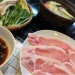 本日は、岩津屋で、一人豚しゃぶ定食を頂きました。何時もながら、美味しゅうございました。