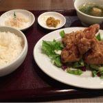 台湾小皿酒家 五福 油淋鶏定食 ンマンマ♪ ^o^