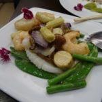 揚州飯店 渋谷店   海鮮三種炒め(2592円)   三種が好きという訳でもないんですが・・