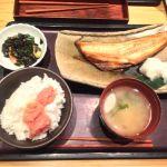 やまや 大崎店 なう!明太子食べ放題の日替わりランチ(*´꒳`*)