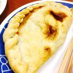 カルツォーネ マルゲリータ 600円程 温め直して食べると美味しい!が予想を上回るほどではなく値段から考えると… ☆☆☆★★