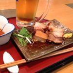 酒蔵 澤正宗 真昼間から生ビールと角煮♡
