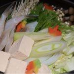 ちょいと白菜が多めでしたがw さっぱりとした醤油だしが魚介と野菜の旨みを引き立てている「四季の寄席鍋」錦糸町・四季の蔵