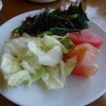 ビヤステーション 恵比寿   サラダバー   まずは野菜中心に
