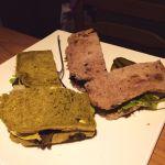欧風料理 楓日替わりランチ 自家製パンのサンドイッチ