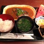 季節料理 椿 鯖の味噌煮定食 800円