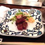 横浜 うかい亭 コース内のうかい牛のステーキ