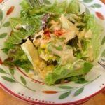 サイゼリア 港北東急SC店    サラダ(セット:600円内)   しっかりした野菜で舌触りが良い!