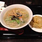 珉珉 八重洲店 湯麺セット