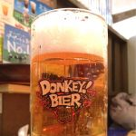 びっくりドンキー 新札幌デュオ店で、ビール!(と、ハンバーグ!)