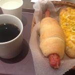 サンジェルマン 大船ルミネ店でパンランチ💕鎌倉ハムのソーセージパンがお気に入りです🎶