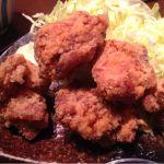 鶏料理専門店 とりかく 丸の内国際ビル店 唐揚げ定食(^_^)