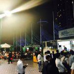 東京ドーム・ラクーア 風と緑のビアガーデン