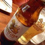 昨夜の マンゴーツリーカフェ 新宿 ♪ タイ産プレミアムビール「シンハー」(^^) #ごちそうフォト #タイ #thai #singha