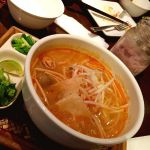 昨夜の マンゴーツリーカフェ 新宿 ♪「トムヤムヌードル」(^^) #ごちそうフォト #タイ #thai #タイ料理