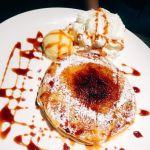 クアアイナ ららぽーと TOKYO-BAY店クレームブリュレパンケーキ