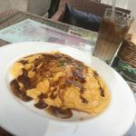 P.C.A. Pub Cardinal Akasaka ランチタイムにはパンケーキ無く残念;オムレツランチ