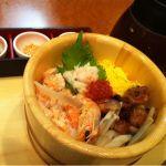 四六時中 京都五条店で山海五目おひつごはん頂きました(^-^)/いろんな味が楽しめて飽きません。
