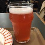 カフェアンドバー タミルズ ラズベリー使ったビール ハーフで650円 税込なのでわかりやすい^_^
