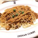 今日のお昼は淀屋橋のインデアンカレーで久しぶりにインデアンスパゲティを頂きました〜