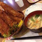 どんぶり道場 パサール羽生店キャベツとご飯は不味かったが、お腹いっぱいになった