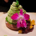 MOKUOLA Dexee Diner ルミネエスト新宿店 メルティキャラメル&ナッツと抹茶モンブランを友達とシェアして食べました。パンケーキ1つなのにとってもボリューミー😍