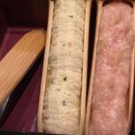 やさい家めい ルミネ横浜店   つくね三種    山芋つくねなど。もう一つは次で。