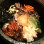 五韓満足 八重洲店、ジュージューな石焼ビビンバ
