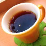 ホシカワカフェ@熊谷市。ホットコーヒーです。ホンジュラス豆を使用、フルーティな酸味とスッキリした後味で美味しいです。