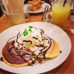 T.C cafe 岡山店のパンケーキを食べました!