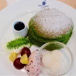 ブラザーズカフェ〜濃い味抹茶のパンケーキ〜 抹茶が濃くてかなーり美味しいですヾ(*´∀`*)ノ゙
