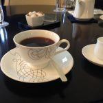 東京ステーションホテル ロビーラウンジ  このコーヒー1250円なり。昨日からCP悪いモノばかり摂ってます。