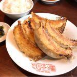 池袋東武百貨店のレストラン街に入る銀座 天龍で名物の餃子ライスを頂きました!