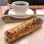 カスカード ゼスト御池店:スイートポテトデニッシュとコーヒー