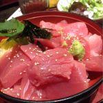 炉端かば 東京浜松町店のマグロ丼!