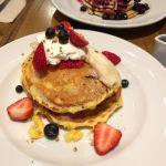 j.s. pancake cafe マークイズみなとみらい店パンケーキなのにフレンチトーストのような味で砂糖がカリカリになっててとても美味しかった^o^