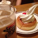 抜群に美味*\(^o^)/*シロノワール+ミルクコーヒー♡