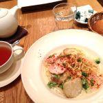 アフタヌーンティー・ティールーム 横須賀モアーズシティで食べたスモークチキンのパスタ♡