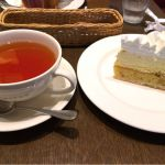 ル・サロン・ド・ニナス クィーンズスクエア横浜店  紅茶もケーキも結構でかい