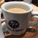 ベーグル&ベーグル   コーヒー   セット内です